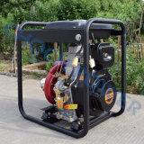디젤 엔진 펌프 기계, 휴대용 농업 관개 디젤 엔진 수도 펌프