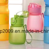 300 мл широкий рот пластиковые спорта бутылка воды, красивые питьевой расширительного бачка (hn-1607)