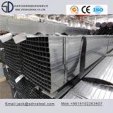 Tubo de acero cuadrado galvanizado S235jo de ERW