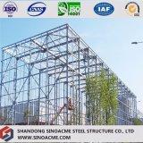 Construction commerciale de construction en acier pour le centre serveur de distribution