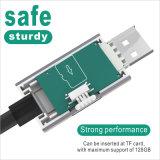 Platte USB-Kabel des OTG Auto-U für iPhone, Samsung