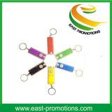 LED colorido de encargo Keychain para la promoción