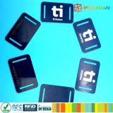 イベントの祝祭NTAG210マイクロRFID NFCによって編まれるファブリックリスト・ストラップ