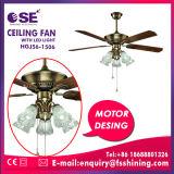 """"""" lame 52 droite électrique décorant le ventilateur de plafond léger (HgJ56-1506)"""
