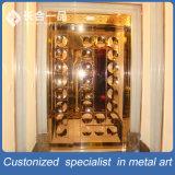 تخصيص فاخر معدن كتف الداخلية الصلب الباب مع طلاء اللون