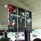 Doppio via del PVC stampata lato superiore su ordinazione esterno che fa pubblicità alla bandiera del vinile del Palo