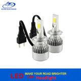 12V/24Vユニバーサル72W 7600lm自動ランプの穂軸ヘッドライトC6 LEDヘッドライトH7 H4 9005 9006