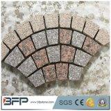 私道または景色のための安く自然なテラスのペーバーの玉石の石