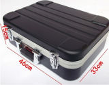 Anti het Dalen Toolbox van de Legering van het Aluminium van het Bewijs van de Schok ABS de Plastic Doos van het Instrument