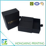 Kundenspezifischer schwarzer Plättchen-Papparmband-Kasten