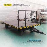 Almacén de equipaje del aeropuerto de El uso de remolque plano