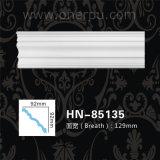 Het Plafond die van het Afgietsel Pu van de Kroonlijst van het polyurethaan hn-85135 vormen