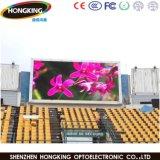 Placa ao ar livre Rental do sinal do indicador de diodo emissor de luz P10 para anunciar