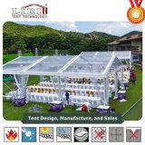 10X15m 투명한 PVC 측벽을%s 가진 상류 명확한 결혼식 천막