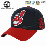 2017の大きいデザイン刺繍及びバッジのスポーツの野球帽