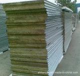 壁のための建築材料の熱絶縁体の岩綿サンドイッチパネル