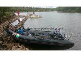 Bateau de sauvetage gonflable militaire de canot en caoutchouc d'Aqualand 16feet (AQL-470)
