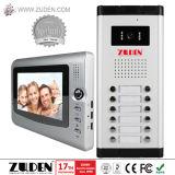 Телефон двери Multi квартиры видео- с панелью входа кнопка