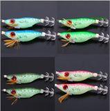 Köder-Köder des japanische grosse Augen-hölzerne Garnele-Kalmar-Haken-10cm der Garnele-9g
