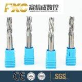 O carboneto de Flauta Fxc 2/4 Perfil de desbaste Final Mill cortador em alumínio