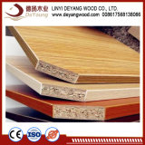 멜라민 Faced Particle Board와 Chipboard Hollow Board Tubular Particleboard
