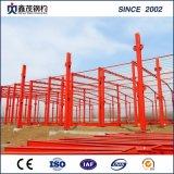 Construcción de edificios prefabricada del almacén de la estructura de acero del surtidor chino