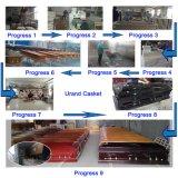 Cofanetto e bara popolari di rifinitura del pioppo solido grave superiore del prodotto