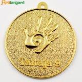 도금되는 은을%s 가진 주문을 받아서 만들어진 금속 메달