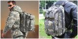 Style militaire de niveau III Molle Assault Sac à dos de couleur noire