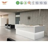 Модный длинний стол приема конструкции в коммерчески мебели офисной мебели