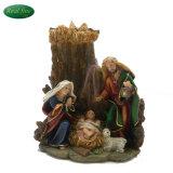 Reeks van de Geboorte van Christus van de Hars van de Decoratie van Kerstmis de Goedkope