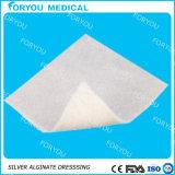 O diabético por atacado fornece o Alginate do AG que veste a limpeza de ferida de prata de Silvercel do Alginate de prata