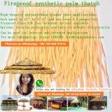 De video Vuurvaste Synthetische Palm met stro bedekt Viro met stro bedekt Riet Afrikaan met stro bedekt Hut