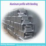 Perfil de aluminio de extrusión de aluminio anodizado de flexión para Maletín