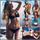بيكيني [برزيلين] محدّد مثيرة ضمادة بيكيني [سويمور] نساء 2018 مادّة صلبة [سويمسويت] فصل صيف شاطئ يحمّم سباحة بيكيني