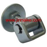 円形の版が付いているゲートのヒンジ溶接の調節可能な頑丈