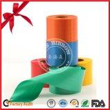 Polyester-Geschenk-verpackenfarbband-Spulen-Rolle für Weihnachtsfest