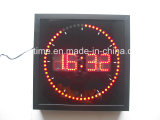 Pantalla digital LED Reloj de pared Cuadrado