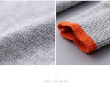 100%年の綿の長い袖のばねまたは秋の男の子のセーター