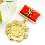 Chapado en oro con Metal personalizado CHAPA PIN