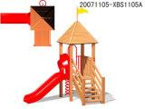 Campo de jogos ao ar livre de madeira para a venda