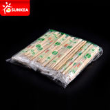 Устранимое Bamboo Chopsticks с Plastic Packaging