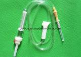 Conjunto de transfusão sanguínea descartáveis, suprimentos médicos descartáveis