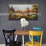 Comercio al por mayor campo de la flor de cuchilla paleta de pinturas al óleo de artistas