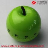 Grüner Apple-Form-Küche-Gebrauch-kleiner Digital-Timer