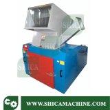 60HP concasseur de déchets de plastique avec deux matériaux pour d'entrée et une bouteille de tuyaux en plastique