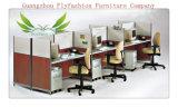 Qualitäts-Melamin-Büropersonal-Schreibtisch (OD-74)