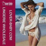 Vestito di bagno casuale del bikini della spiaggia delle ragazze adulte (L38345)