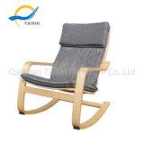 Piscina exterior de madeira móveis cadeira de balanço