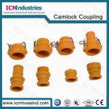 Accoppiamenti di nylon di tubo flessibile della scanalatura e della camma